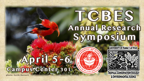 TCBES Symposium Flyer - April 4-5, 2018